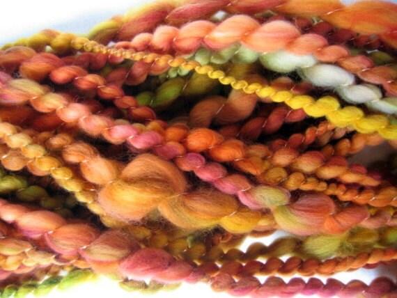 Handspun Yarn - Super Wash Merino Wool - Autumn 1