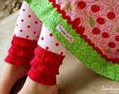 Bridget and Co Red Hot Candy Dots Rufflettes