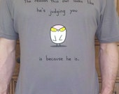Judgy Owl Tshirt (available in mens and womens sizes)