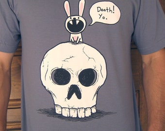 Death Rabbit Tshirt (mens and womens available)