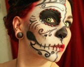Vegan Stage and Halloween Costume Makeup Base and 4 Colors Your Choice Face Paint