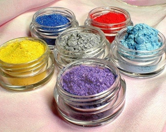 Eye Shadow Collection Back to the 80s  Mineral Makeup Kit