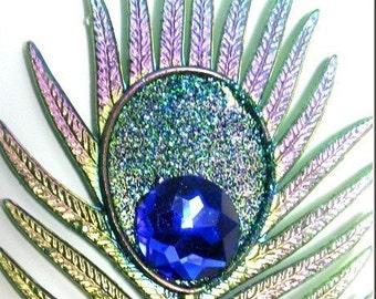 Eye Shadow Kit Makeup Vegan Brush Peacock Eyes