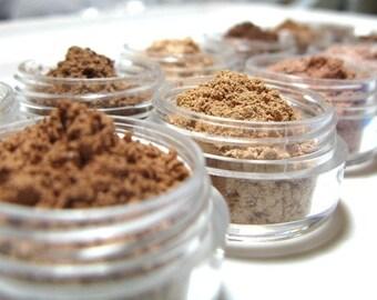Bronzers Vegan Mineral Makeup Your choice Pink Quartz Minerals