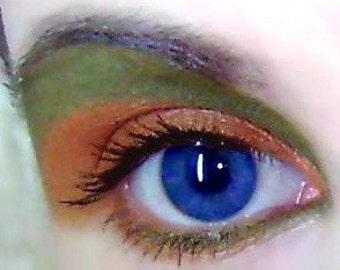 Eye Shadow Makeup Mineral Eyeshadow Smoked Orange Vegan Eye Shadow