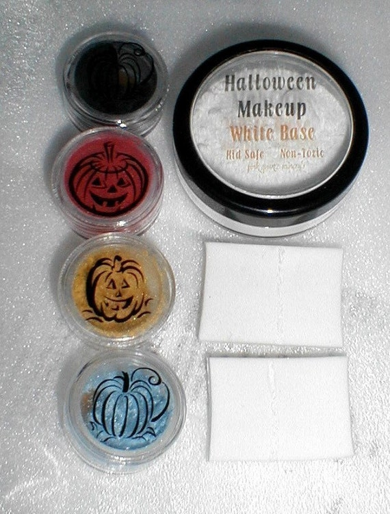 Stage and Halloween Costume Makeup Base and 4 Colors Your Choice PInk Quartz Minerals