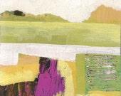 Abstract Minimalist Landscape Original Painting