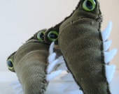 Crock and Allie - Conjoined Twin Alligator and Crocodile Hybrid Plush