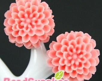 CA-CA-05306 - Pom Pom Big Mum, Pink, 2 pcs