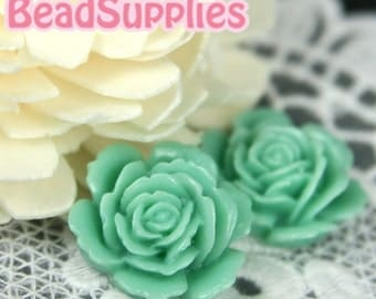 Special Offer - CA-CA-05812 - Layered Peony, Erinite Green, 4 pcs