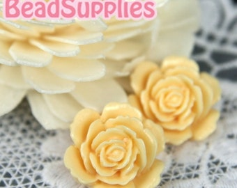 Special Offer - CA-CA-05803 - Layered Peony, Ivory, 4 pcs