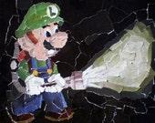 Nintendo Collage - Luigi - DIGITAL PRINT