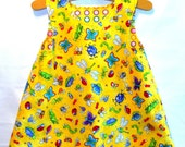 Reversible A-line Baby Dress Jumper Ready 2 Ship