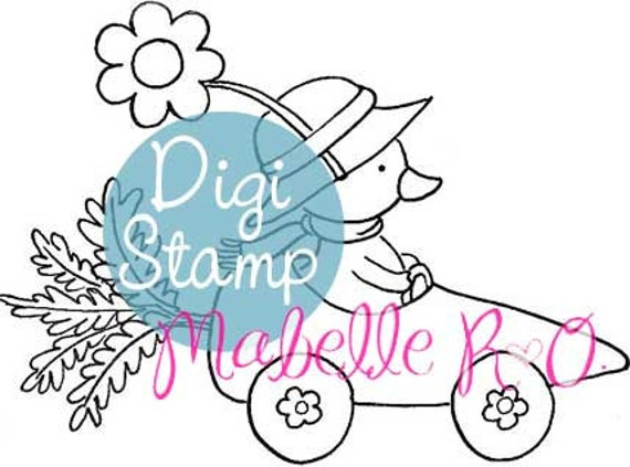 Digital Stamp: Joyride Ducky