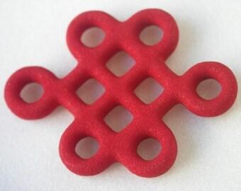 Mystic Knot Pendant. Acrylic, my design.