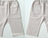 baby s cashmere pants beige colour 2 years