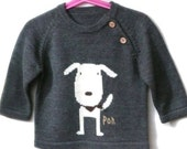 boy s wool sweater 3-4Y