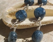 IN THE SWING - Kyanite on French Hook Earrings