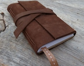 LAST ONE -  15% off - 2011 Weekly Planner - leather - handbound