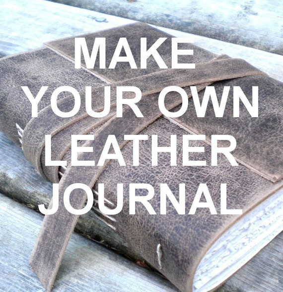 Make Your Own Leather Journal Bookbinding Kit By