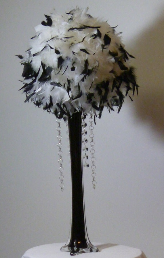 For rachel chandelle feather kissing balls