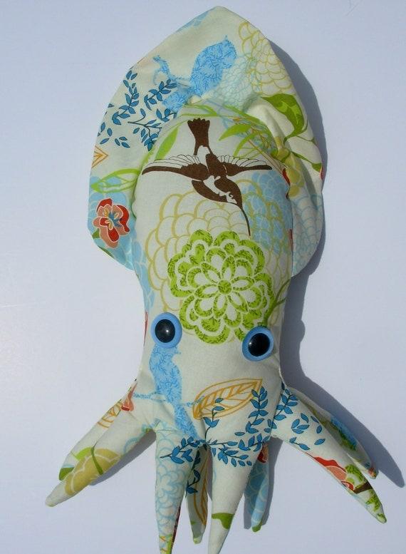 Hummingbird & Flower Cuttlefish