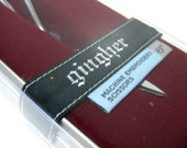 Gingher 6 inch Machine Embroidery Scissors with Gift Tin