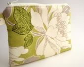 Zippered Wristlet-Amy Butler Fabric-15% Off With Coupon Code