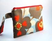 Zippered Wristlet -Amy Butler Fabric