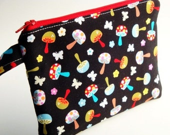 Zippered Wristlet Michael Miller Fabric