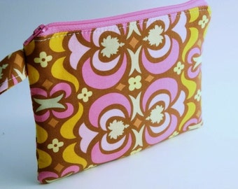Zippered Wristlet- Amy Butler Fabric