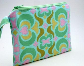 Zippered Wristlet-Amy Butler Fabric