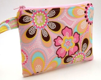 Zippered Wristlet-Michael Miller Fabrics