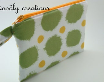 Zippered Wristlet-Joel Dewberry Fabric