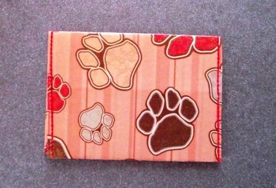 Dog Print Wallet / Cardholder