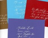 100 Hand Addressed Envelopes