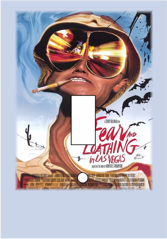 Fear and Loathing in Las Vegas Light Switch Cover single toggle