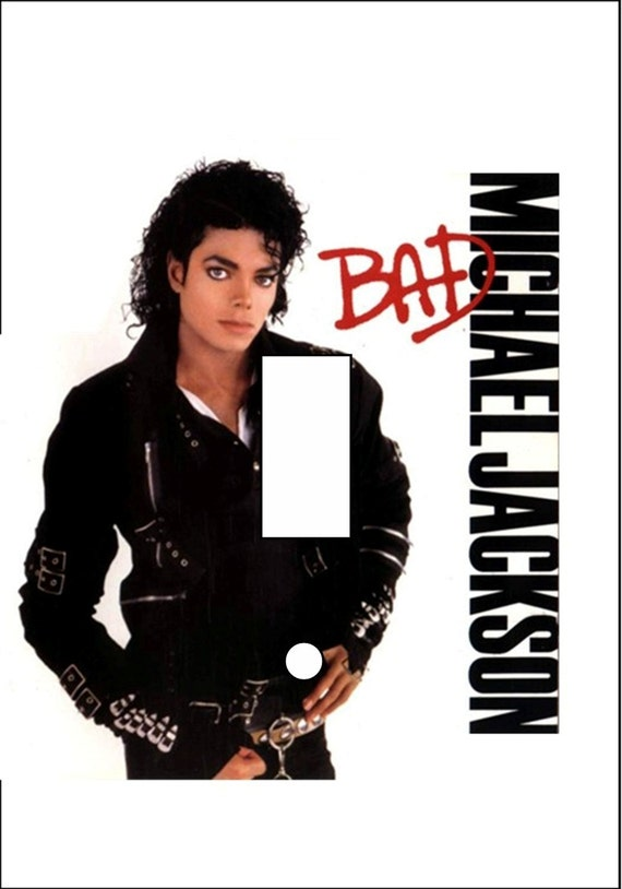 michael jackson bad album light switch cover single toggle