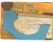 "Mini Original Art Collage - ""August"" ACEO"