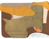 "Mini Original Art Collage - ""Paper Work"" ACEO"