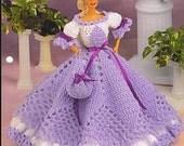 Annie's Fashion Crochet Doll Club Cotillion Hoop Gown for 11 1\/2 Fashion Doll