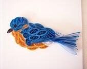 Mini Quilled Bluebird Ornament