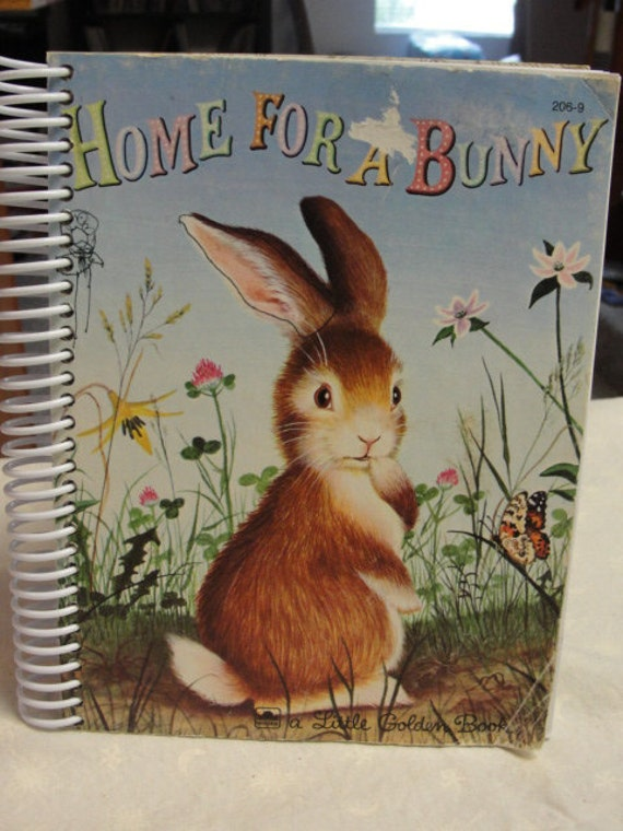 Home for a Bunny Journal Sketch coil bound