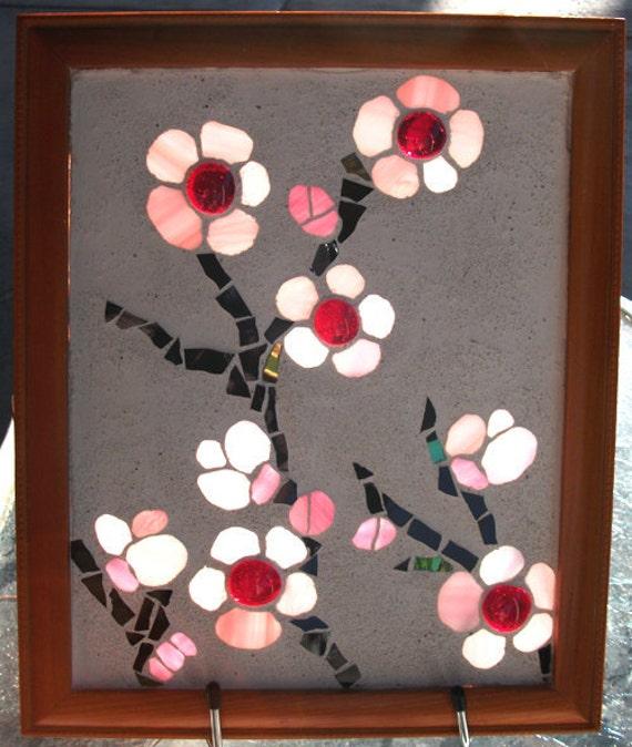 RESERVED FOR LUXSTONES Plum Blossoms - Piezas De Sol Mosaic