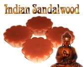 4 Indian Sandalwood Wax Tart Wickless Candle Melt Earthy Scent