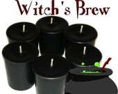 6 Witchs Brew Full Moon Votive Candles Spicy Patchouli Scent