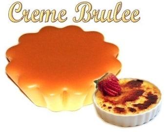 4 Creme Brulee Wax Tart Candle Melts Vanilla Caramel Scent