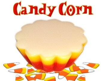 4 Candy Corn Tarts Wickless Candle Melts Sweet Vanilla Candy Scent