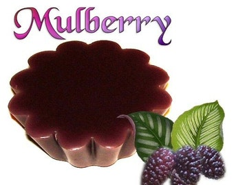 4 Mulberry Tarts Wickless Candle Melts Rich Fruit Berry Scent
