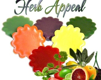 6 Herb Appeal Tarts Candle Melts Variety Package Herbal Scents